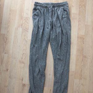 Grey sweat pants!